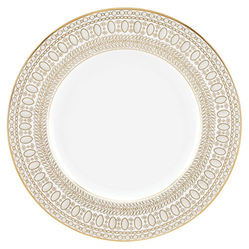 Lenox Marchesa Gilded Pearl Salad Plate, White (Pearl Beaded Plate)