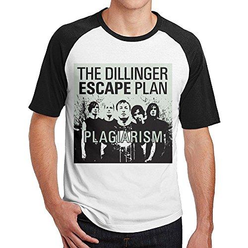 Escape Thong - Qizninger The Dillinger Escape Plan Plagiarism Men's 100% Cotton Short Sleeve Tshirt XXL