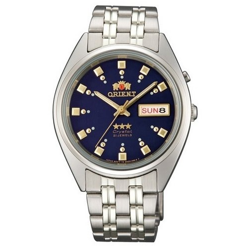 Orient EM0401ND - Reloj para hombres, correa de acero inoxidable color plateado