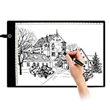 LED A4 Light Box Display Pad Touch Dimmable Brightness Ultra-thin Drawing Board Stencil Artist Art Tracing Tatto Table