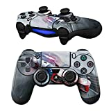 Cheap MODFREAKZ Pair of Vinyl Controller Skins – Red Lead Car Racing Motor for Playstation 4