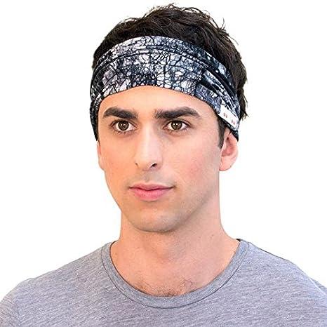 amazon com fashionable batik black headband for men best mens