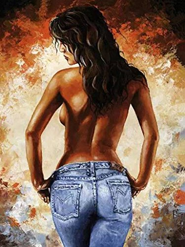 LovetheFamily 数字油絵 数字キット塗り絵 手塗り DIY絵 デジタル油絵 ボディーアート 40x50cm ホーム オフィス装飾の商品画像