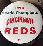 Jumbo 1990 Cincinnati Reds World Champions pin badge