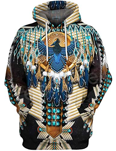 Doxi Sweatshirt Native Indian 3D Hoodie Men Women American Clothing Harajuku
