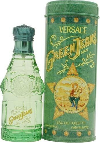 Green Jeans By Gianni Versace For Men. Eau De Toilette Spray 2.5 - Green Versace