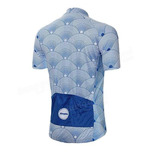 Bazaar Mens vêtements de vélo court sportwear respirante maillots de cyclisme vtt été cyclisme vêtements de vélo