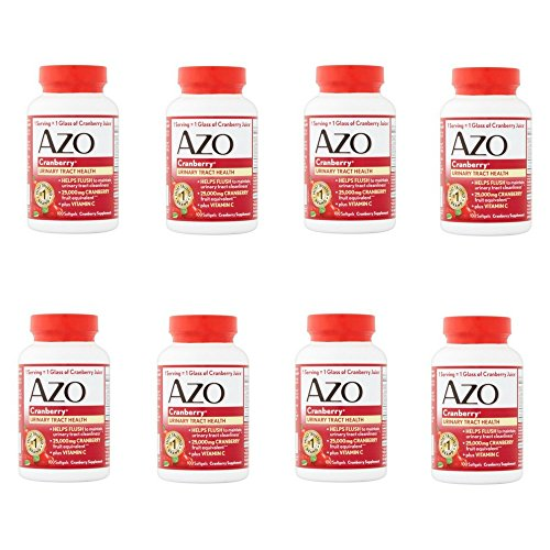 Azo Cranberry For Urinary Tract Infections Max Strength, 100 Softgels pack of 1