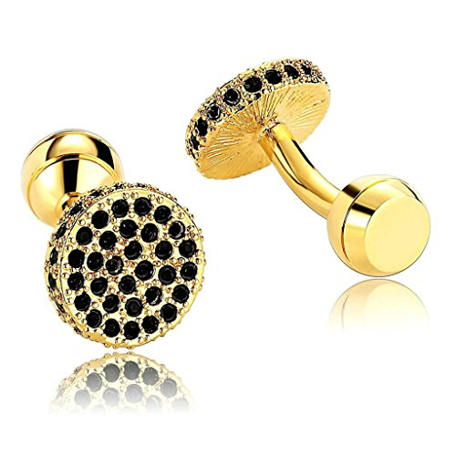 daesar-mens-stainless-steel-cuff-links-gold-black-classicalal-round-with-cubic