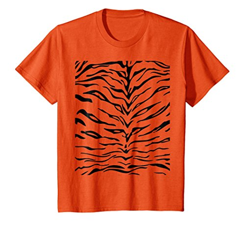 Kids Tiger Print Shirt, Simple Halloween Costume Idea Gift 8 (Simple Idea For Halloween Costume)