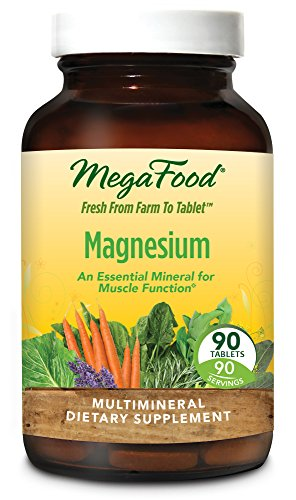Bone Response 90 Tablets - MegaFood - Magnesium, Supports a Healthy Heart, Nervous System, and Muscle Function, 90 Tablets