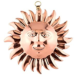 Amazon.com: Old Dutch Solid Copper Sun Face Mold: Kitchen & Dining