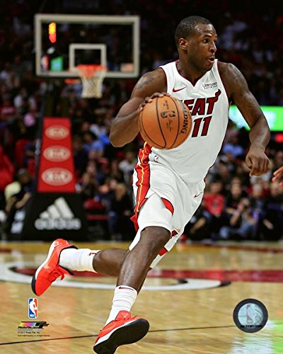 "Dion Waiters Miami Heat 2017-18 NBA Action Photo (Size: 11"" x 14"")"