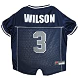 football charm seahawks - NFL Russell Wilson Seattle Seahawks Dog Jersey, Large