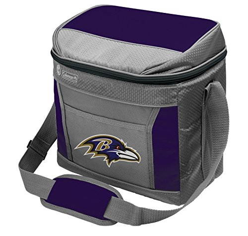 (Rawlings NFL Soft-Sided Insulated Cooler Bag, 16-Can Capacity with)