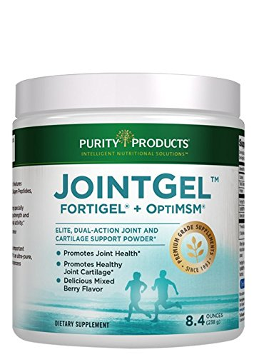 JointGel Formula - Dual Action, Berry Flavored Powder - Combination of Bioactive Collagen Peptides and MSM - from Purity Products by Purity Products