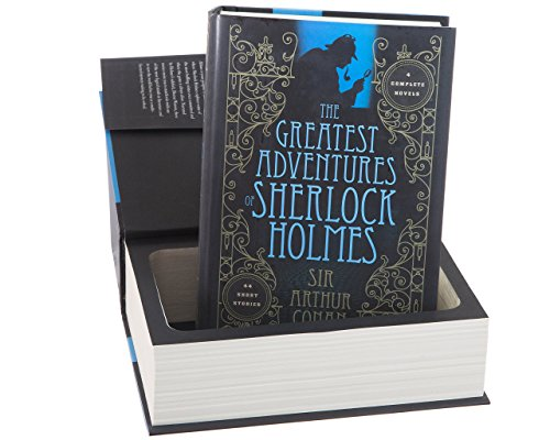 Real Hollow Book Safe - Sherlock Holmes by Sir Arthur Conan Doyle (Magnetic Closure)