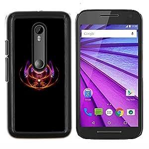 Queen Pattern - FOR Motorola Moto G (3rd Gen 2015) - magic third eye spiritual symbol design art - Cubierta del caso de impacto con el patr???¡¯???€????€??&