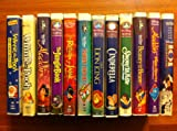 walt disney's 12 pack: Winnie the Pooh and Christmas Too , The Many Adventures of Winnie the Pooh, Aladdin (A Walt Disney Classic), Disney's The Jungle Book , The Return of Jafar, The Fox and the Hound, The Lion King (A Walt Disney Masterpiece), Cinderella