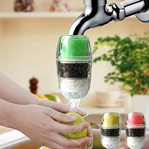 Herramienta de cocina, purificador de agua limpia, filtro de agua para el hogar de coco, cartucho de carbono, grifo ...