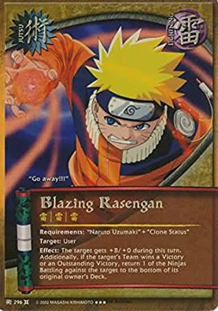 Amazon.com: Naruto - Blazing Rasengan 296 - The Chosen ...