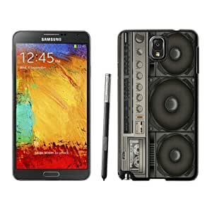Boombox Samsung Galaxy Note 3 Case Black Cover
