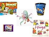 Children's Gift Bundle - Ages 3-5 [5 Piece] - Shrek Forever After Memory Game - Raggedy Ann & Andy Tin Pail Toy - Ty Beanie Baby - Goochy the Jellyfish - Thomas & Friends: Percy Runs Away / Percy an