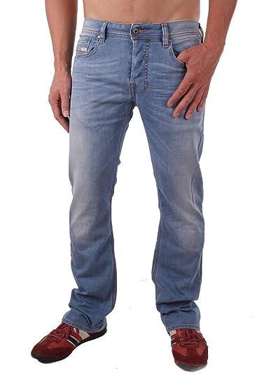 e1d720a2 Diesel Mens New Zatiny 00ADS3 Classic Jeans Blue Size 30W30L: Amazon.co.uk:  Clothing