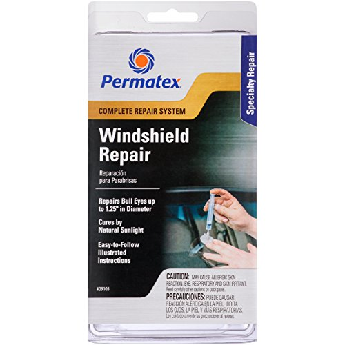 Permatex 09103 1.25 x 3.88 x 7.88' Windshield Repair Kit