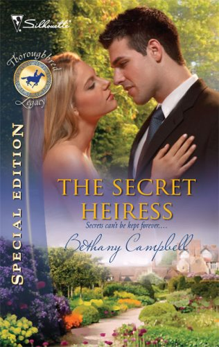 book cover of The Secret Heiress