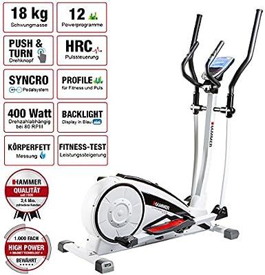 Hammer Bicicleta elíptica Crosslife XTR: Amazon.es: Deportes y ...