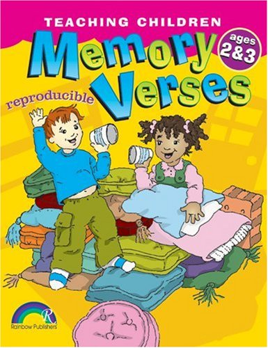 Teaching Children Memory Verses -- Ages 2-3 ()