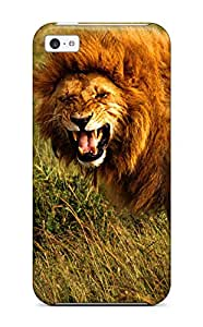 Muriel Alaa Malaih's Shop Hot Tpu Shockproof/dirt-proof Lion Cover Case For Iphone(5c) 5313300K93762957