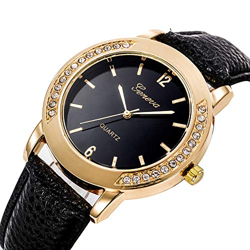 Watches for Women,Fashion Womens Classic Gold Quartz Stainless Steel Wrist Watch for Women
