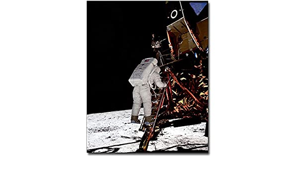 Collectibles Astronauts & Space Travel Apollo 11 Buzz Aldrin On Lunar Ladder 8x10 Silver Halide Photo Print Comfortable And Easy To Wear