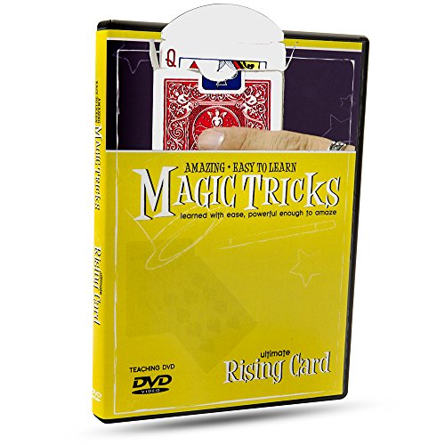 Price comparison product image Amazing Easy to Learn Magic Tricks DVD: Ultimate Rising Card - Includes Professional Magic Thread