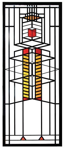 Frank Lloyd Wright Robie Window Stained Glass - 14