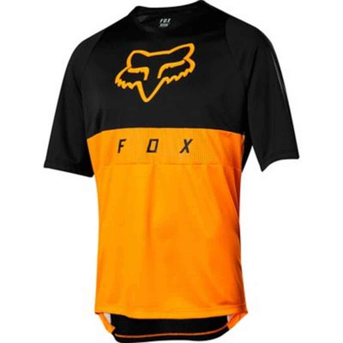 Fox Trail-Jersey Kurzarm Defend Moth Atomic Orange