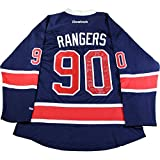New York Rangers Team Signed 90th Anniversary Reebok Jersey 25 Signatures-no Vesey