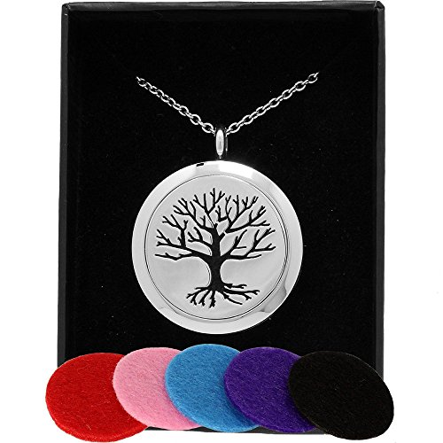 AromaRain Tree Essential Diffuser Necklace