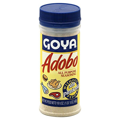 Goya Adobo without Pepper 16.5 OZ(Pack of 6) by Goya