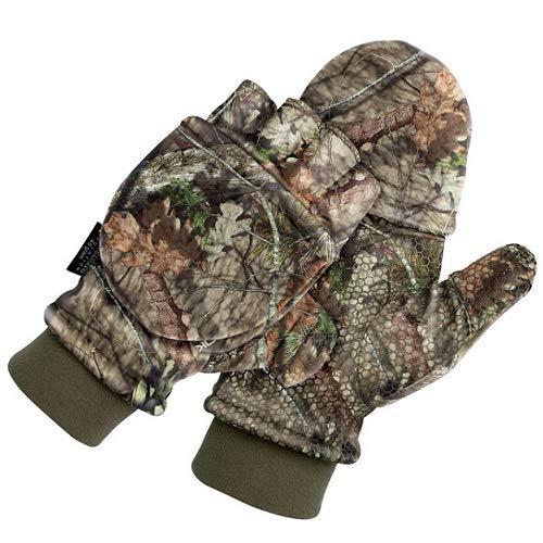 ScentLok Men's Fleece Pop Top Gloves (Realtree Edge, ()