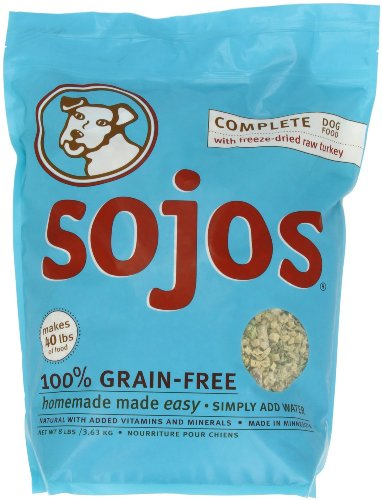 Sojourner Farms Sojos Complete Grain-Free Dog Food Mix 8 lbs