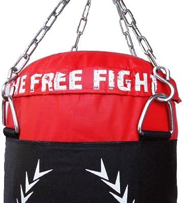 guantes MADX Juego de boxeo con saco de piel 1,2/m soporte de pared y diversos accesorios