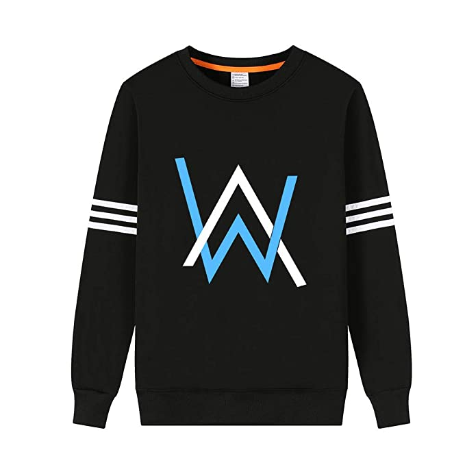 Alan Walker Sudaderas Cuello Redondo Suéter más Terciopelo Engrosada Sweater Manga Larga Casuales Jerseys Cómodo para Mujeres y Hombres: Amazon.es: Ropa y ...