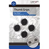 Venom Thumb Grips - Analog Stick Caps for Gamepad/Joystick - 4 Pack - PlayStation 4