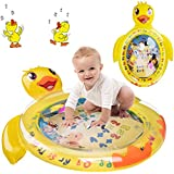 BROADREAM Tummy Time Water Mat Baby Play Activity Center for Newborn Boys Girls Infants Toddler, Baby Toys Tummy Time Mat for 3 6 9 12 Months