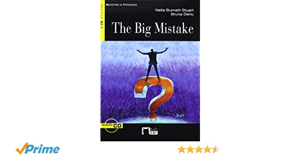 The Big Mistake+cd (Black Cat. reading And Training): Amazon.es ...