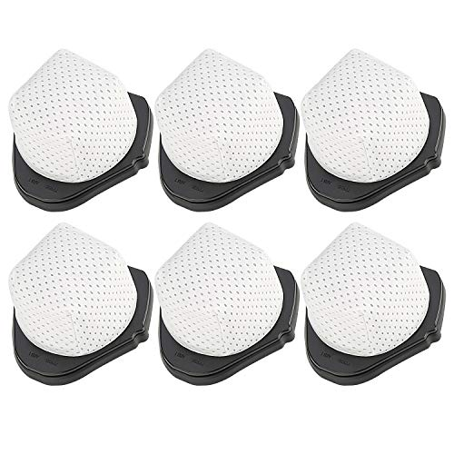 Dust Cup Filters Compatible Shark SV780 SV75Z,Compare to Part # XF769 XSB726N,6 Pack