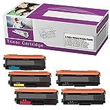 Limeink 5 Pack Compatible TN336 TN315 TN310 TN331 High Yield Laser Toner Cartridges For HL-4150CDN HL-L8250CDN HL-L8350CDW HL-L8350CDWT MFC-L8600CDW MFC-9460CDN MFC-9560CDW MFC-9970CDW MFC-L8850CDW